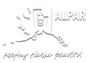 ALPAR logo Alaskans for Litter Prevention and Recycling
