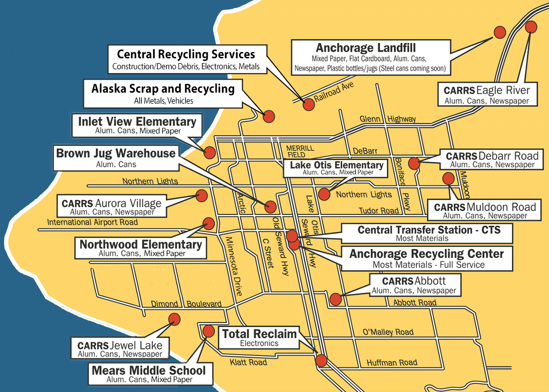 Map of Sites | ALPAR